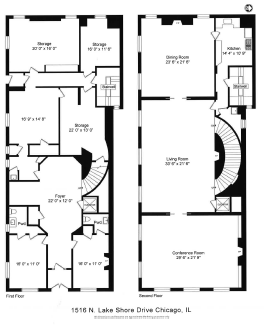 Floor Plans Chicago Historic Chicago Mansion Gold Coast