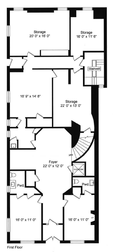 First Floor Plans 1516 N. Lake Shore Dr., Chicago,IL Screen Shot 2015-08-17 at 5.51.38 PM