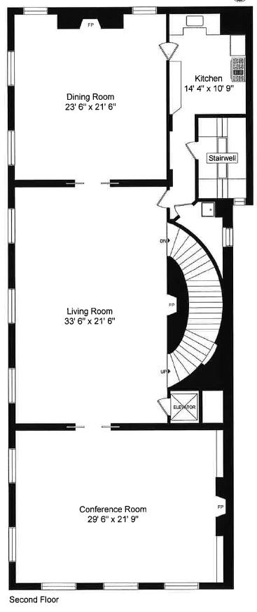 1516 N. Lake Shore Dr. Chicago, IL 60610 Second Floor Plan